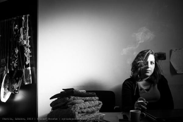 portrait par Youssef Shoufan - Liban, 2013